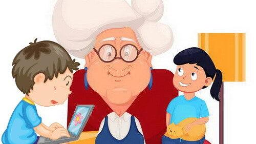 סבתא ממליצה על סרטים מצוירים לילדים